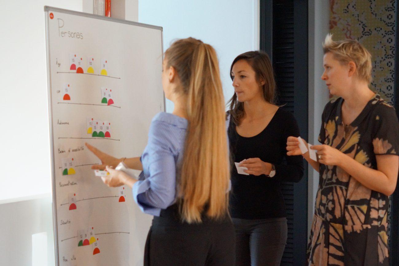 Élaboration des personas au sein de l'Iris UX Lab