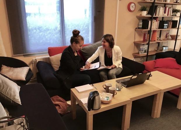 Visite du centre de tests utilisateurs chez Orange à Rennes