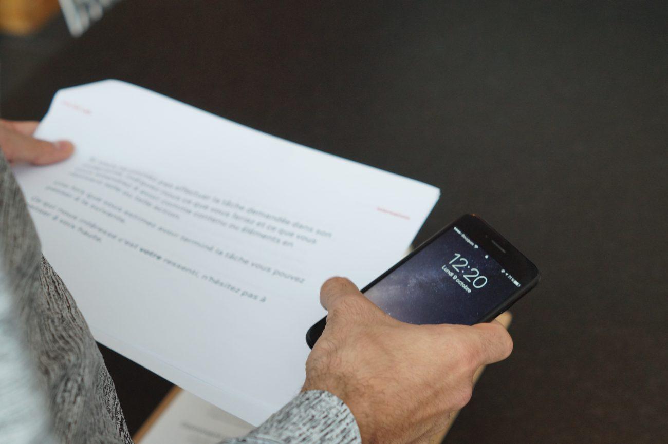 Audit UX d'un site mobile
